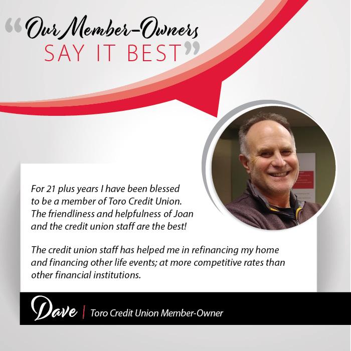 Dave testimonial
