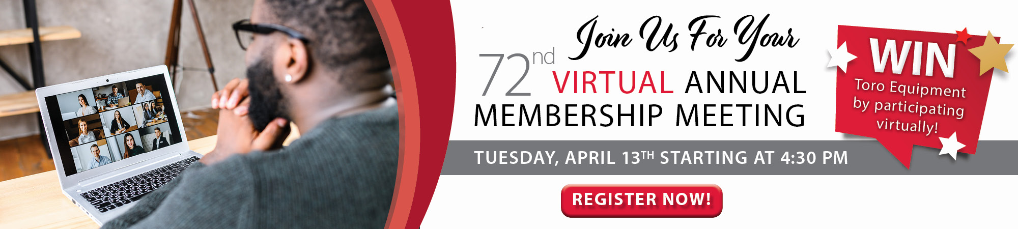 Virtual Annual Meeting Registration